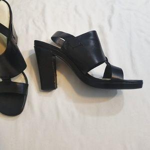 4 for $12 Via Spiga Strappy Black Heels